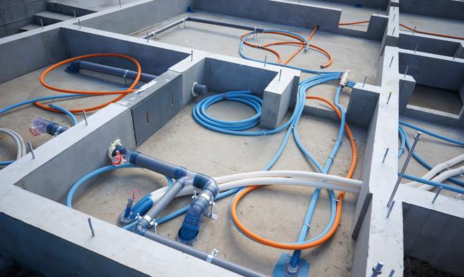 i-smart水道の配管