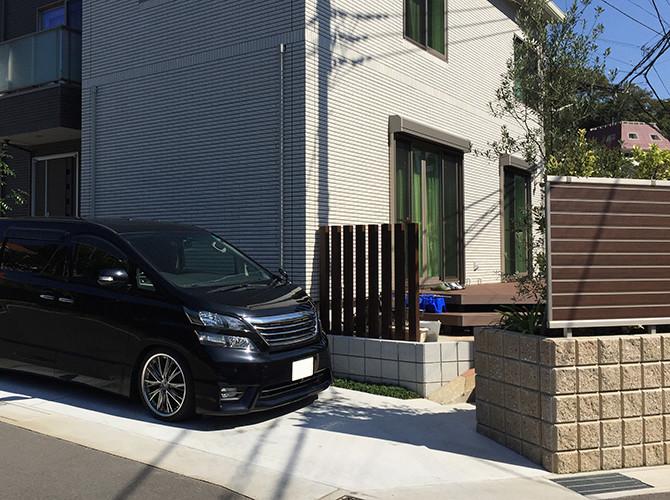 i-smartの外構(駐車スペース)